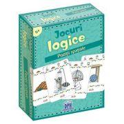 Jocuri logice - Pozitii spatiale - Contine 48 de jetoane