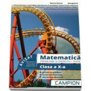Matematica, probleme si exercitii - Teste, pentru clasa a X-a - Profilul tehnic - Semestrul II - Autori, Marius Burtea si Georgeta Burtea