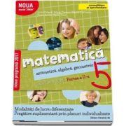 Antohe Florin - Matematica 2000. Aritmetica, algebra, geometrie. Caiet de lucru, pentru clasa a V-a. Partea a II-a (Consolidare si aprofundare)