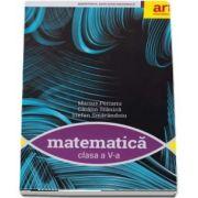 Matematica, manual pentru clasa a V-a de Marius Perianu - Contine editia digitala
