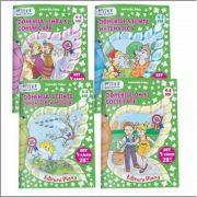 Laurentia Culea - Set patru caiete pentru grupa mijlocie 4-5 ani - Editia 2016 color
