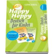 Happy Hoppy. Deutsch fur Kinder - Culori si numere (Cartonase cu imagini pentru invatarea distractiva a limbii germane)