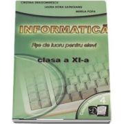 Informatica. Fise de lucru pentru elevi clasa a XI-a. Profilul Matematica - Informatica, Varianta Pascal (4) - Dragomirescu Cristina