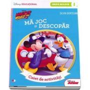 Mickey si pilotii de Curse. Ma joc si descopar. Caiet de activitati pentru grupa mijlocie - semestrul I - Colectia Disney Educational