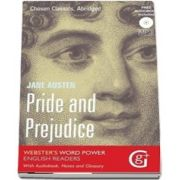 Pride and Prejudice de Jane Austen (Websters Word Power English Readers With Audiobook, Notes and Glossary)