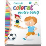 Carte de colorat pentru baietei - Editia 2018
