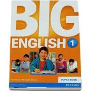 Curs de limba engleza, Big English 1 - Pupils book de Mario Herrera