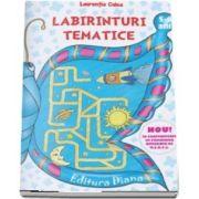 Labirinturi tematice pentru 5-6 ani (Laurentia Culea)
