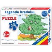 Legenda bradului, puzzle cu 60 piese