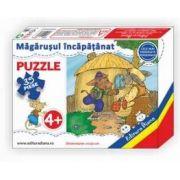 Magarusul incapatanat, puzzle cu 35 piese