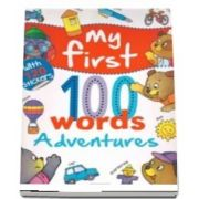 My first 100 words - Adventures, with 120 Stickers