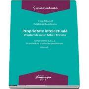 Proprietate intelectuala. Drepturi de autor. Marci. Brevete - Volumul I. Jurisprudenta C. J. U. E. in procedura trimiterilor preliminare (Irina Albusel)