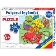 Puzzle - Puisorul ingamfat - Contine 60 piese