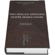 Trei avocati banateni despre Marea Unire. Jurnale de Lazar Gruneantu