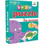 Bebe puzzle - In ocean (Contine 20 de piese de mari dimensiuni)
