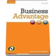 Business Advantage. Advanced Teacher's Book de Jonathan Birkin