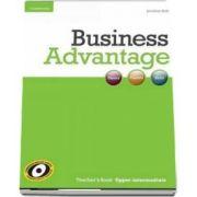 Business Advantage. Upper-intermediate Teacher's Book de Jonathan Birkin