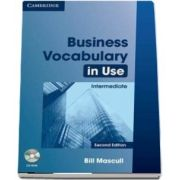 Business Vocabulary in Use Intermediate with Answers and CD-ROM de Bill Mascull