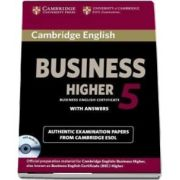 Cambridge English Business. 5 Higher Self-study Pack - Student's Book with Answers and Audio CD