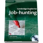 Cambridge English for Job-hunting Student's Book with Audio CD - Colm Downes