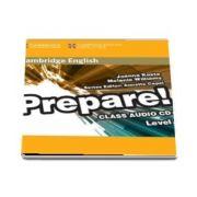 Cambridge English Prepare! Level 1 Class Audio CD - Melanie Williams