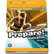 Cambridge English Prepare! Level 1 Workbook with Audio - Caroline Chapman