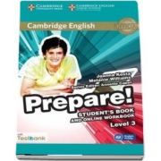 Cambridge English Prepare! Level 3 Student's Book and Online Workbook with Testbank