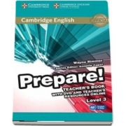 Cambridge English Prepare! Level 3 Teacher's Book with DVD and Teacher's Resources Online - Wayne Rimmer