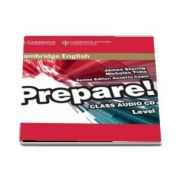 Cambridge English Prepare! Level 4 Class Audio CD