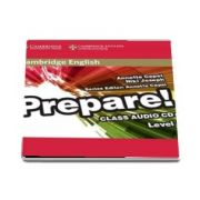 Cambridge English Prepare! Level 5 Class Audio CD de Niki Joseph