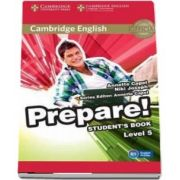 Cambridge English Prepare! Level 5 Student's Book de Niki Joseph