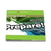 Cambridge English Prepare! Level 7 Class Audio CD - James Styring