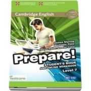 Cambridge English Prepare! Level 7 Student's Book and Online Workbook with Testbank de James Styring