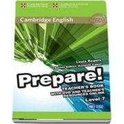Cambridge English Prepare! Level 7 Teacher's Book with DVD and Teacher's Resources Online - Louis Rogers
