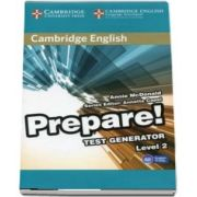 Cambridge English Prepare! Test Generator Level 2 with CD-ROM