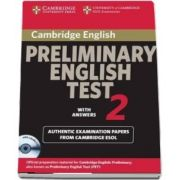 Cambridge Preliminary English Test 2 Self-study Pack - Cambridge Preliminary English Test 2 Self-study Pack Level 2
