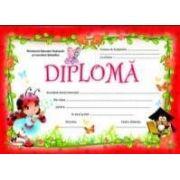 Diploma - Format A4, model buburuza