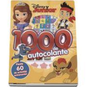 Disney Junior - 1000 de autocolante. Peste 60 de activitati antenante! - colectia Disney