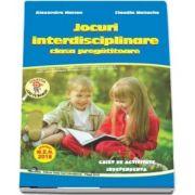 Jocuri interdisciplinare pentru clasa pregatitoare, caiet de activitate independenta - Colectia Leo te invata - Editia 2018