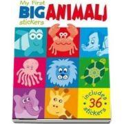 My First Big Animal Stickers