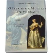 O istorie a muzicii universale, volumul III - De la Schubert la Brahms de Ioana Stefanescu