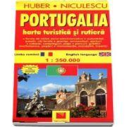 Portugalia. Harta turistica si rutiera (La scara de 1: 350. 000)