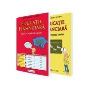 Set de educatie financiara. Banii pe intelesul copiilor - Caiet si carte (Ligia Georgescu Golosoiu)