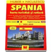 Spania. Harta turistica si rutiera (La scara de 1: 900. 000)