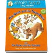 The Bear and the Travellers: with The Ducks and the Tortoise (Aesop's Fables Easy Readers)