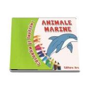 Coloram si invatam! - Animale marine