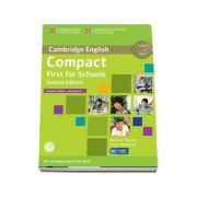 Compact First for Schools Student's Book with Answers with CD-ROM - Laura Matthews, Barbara Thomas