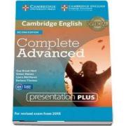 Complete Advanced Presentation Plus (DVD-ROM) - Simon Haines
