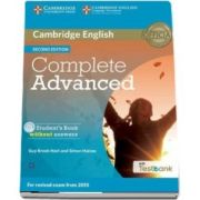 Complete Advanced Student's Book without Answers with CD-ROM with Testbank - Autori: Simon Haines, Guy Brook-Hart