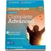 Complete Advanced Student's Book without Answers with CD-ROM - Without Answers - Guy Brook-Hart, Simon Haines